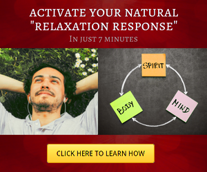 Activate the relaxation response.